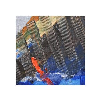 Abstract sail canvas print