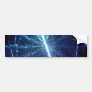 abstract sample abstract pattern bumper sticker