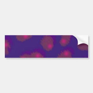 abstract sample abstract pattern purple PUR-polari Bumper Sticker