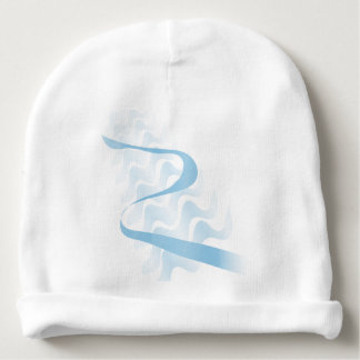 Abstract satin. baby beanie