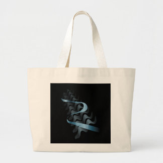 Abstract satin. large tote bag