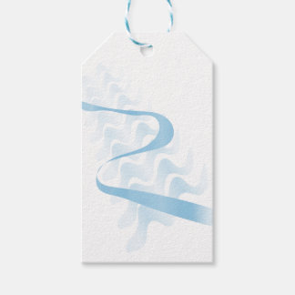 Abstract satin. pack of gift tags