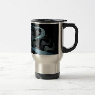 Abstract satin. travel mug