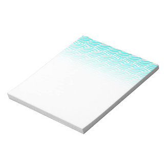 Abstract scales notepad