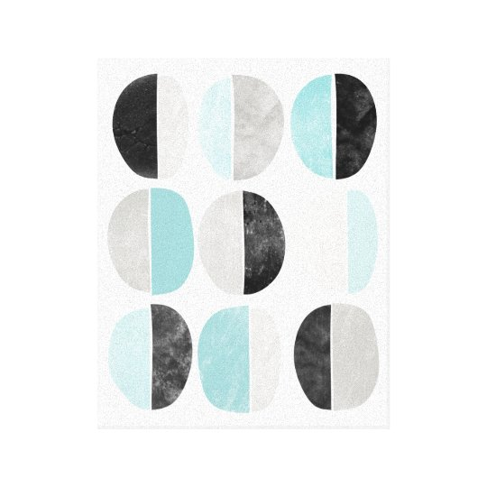 Abstract, scandinavian, geometric canvas print
