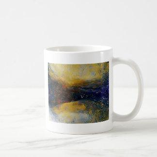 Abstract sci-fi alien worlds coffee mug