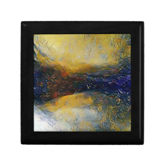 Abstract sci-fi alien worlds gift boxes