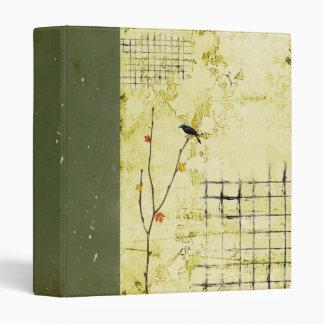 abstract scrapbook binder