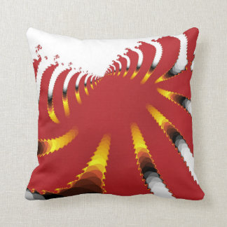 ABSTRACT SEA ANEMONE THROW PILLOW