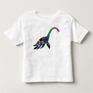 Abstract Sea Dino Baby Tee