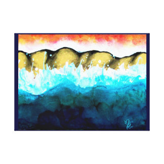 abstract Seacape Canvas Print