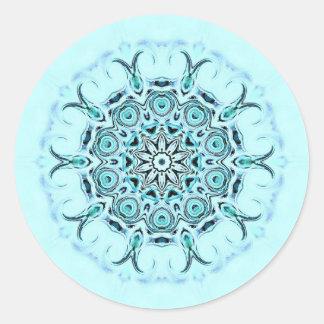 abstract seafoam sticker