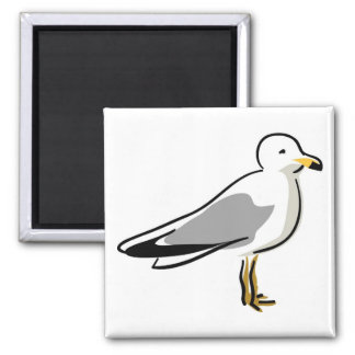 Abstract Seagull Magnet