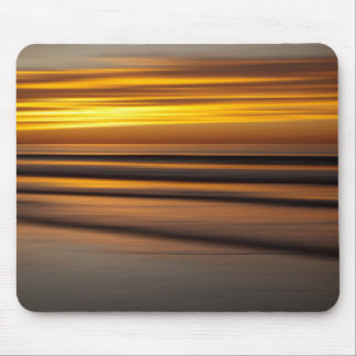 Abstract seascape at sunset, CA Mouse Pad