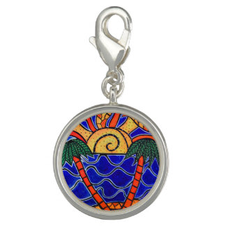Abstract Seascape Photo Charms