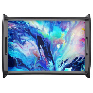 Abstract Serving Tray