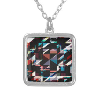 Abstract Shapes And Colors Pendant
