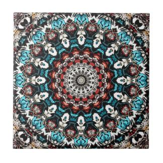 Abstract Shapes Mandala Ceramic Tiles