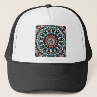 Abstract Shapes Mandala Trucker Hat