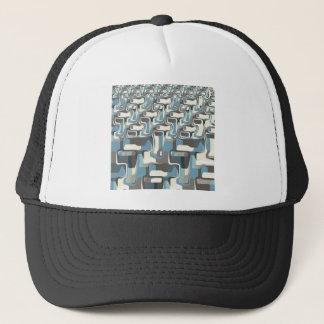 Abstract Shapes Metamorphosis Trucker Hat