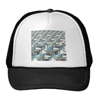 Abstract Shapes Metamorphosis Trucker Hat