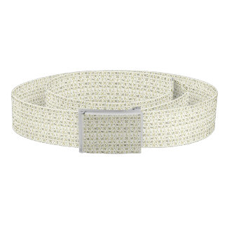 Abstract Shapes Pattern Belt