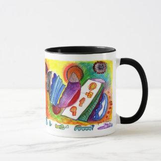 Abstract shapes plus Folded Image Mug