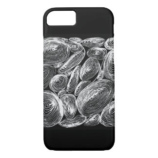 abstract shell stone iPhone 8/7 case