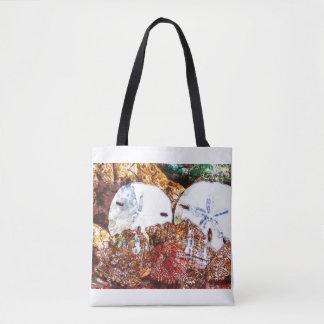 Abstract shells tote bag