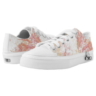 Abstract shiny background Low-Top sneakers