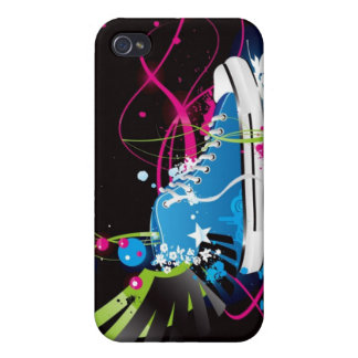 Abstract Shoe iPhone 4 Case