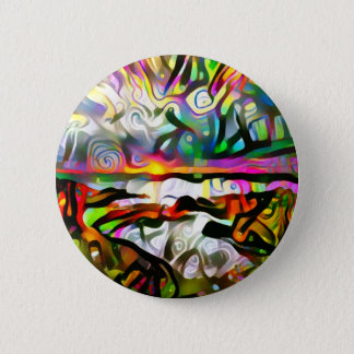 Abstract shore 2 inch round button