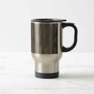 Abstract Silver Background Travel Mug