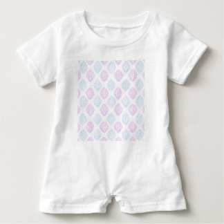 Abstract simple baby romper