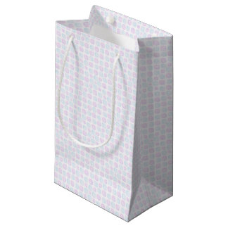 Abstract simple small gift bag