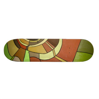 abstract skateboard deck