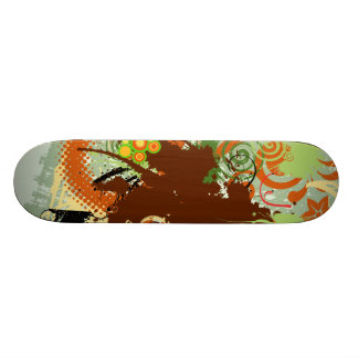 Abstract Skateboard