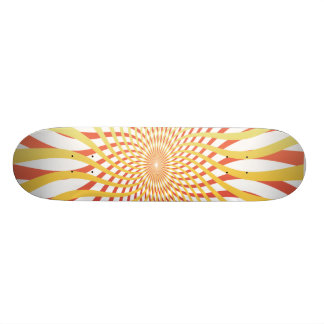 Abstract Skate Board Decks