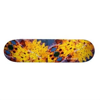 Abstract Skateboard