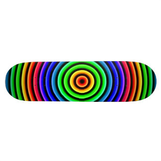 abstract skate board deck