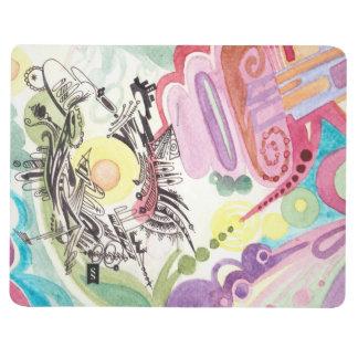 Abstract Sketchbook 4 Journal