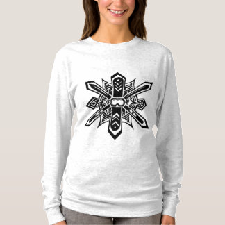 Abstract Ski/Snowboard Long-Sleeve Top