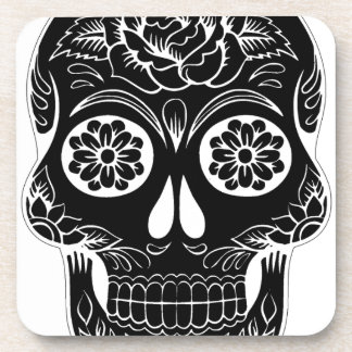 Abstract Skull Coaster