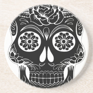 Abstract Skull Coaster