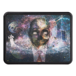 Abstract Skull Fantasy Trailer Hitch Covers