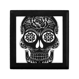 Abstract Skull Gift Box