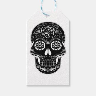 Abstract Skull Gift Tags