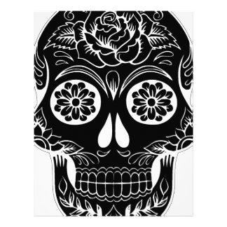 Abstract Skull Letterhead
