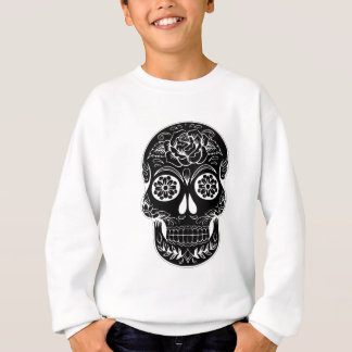Abstract Skull Sweatshirt