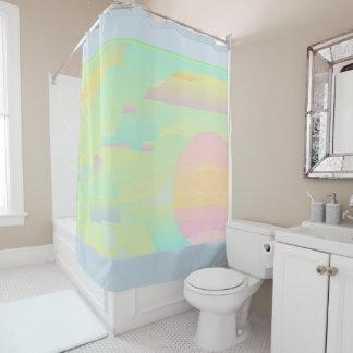 Abstract Sky Art Shower Curtain